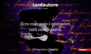 Cantautore Ecco cosa sono i cantautori, tutti camelopardi. Francesco Guccini