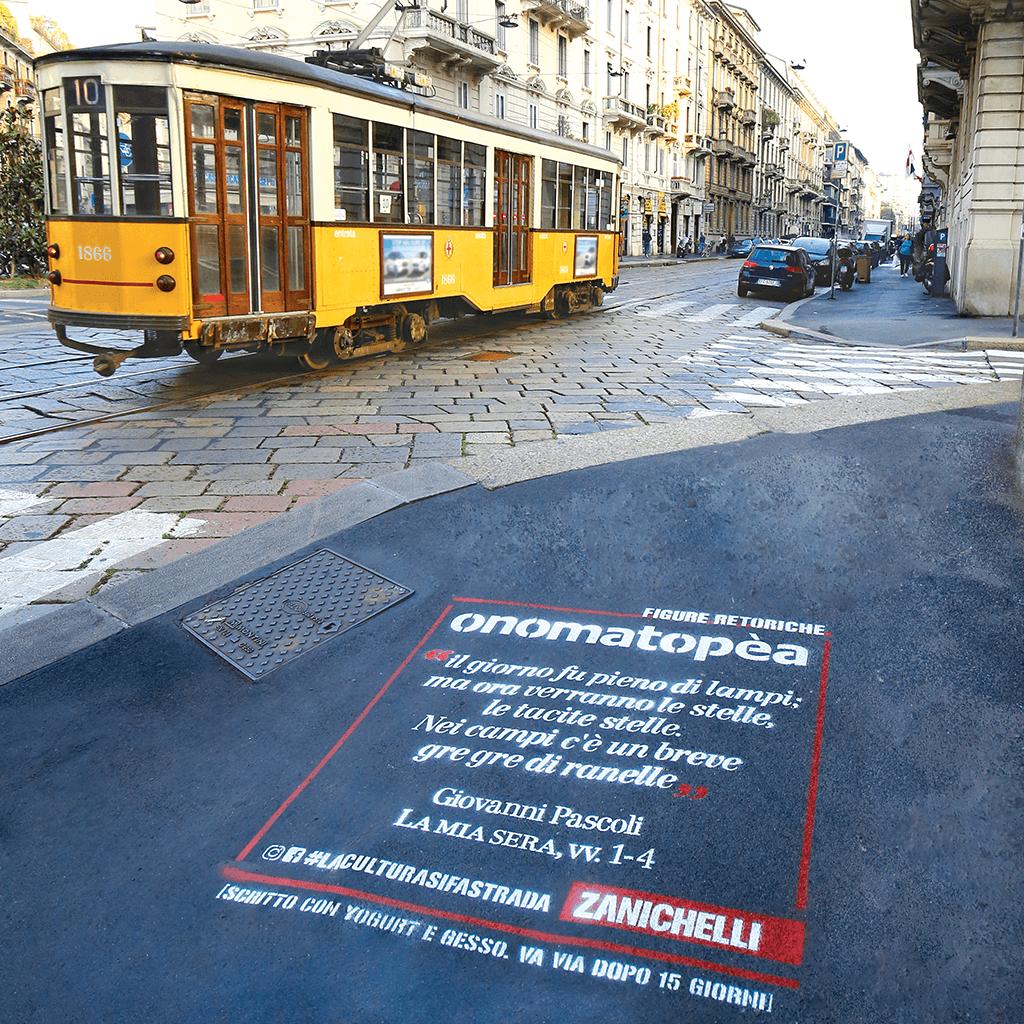 cultura si fa strada - tram