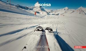 discesa libera - definizione Sofia Goggia